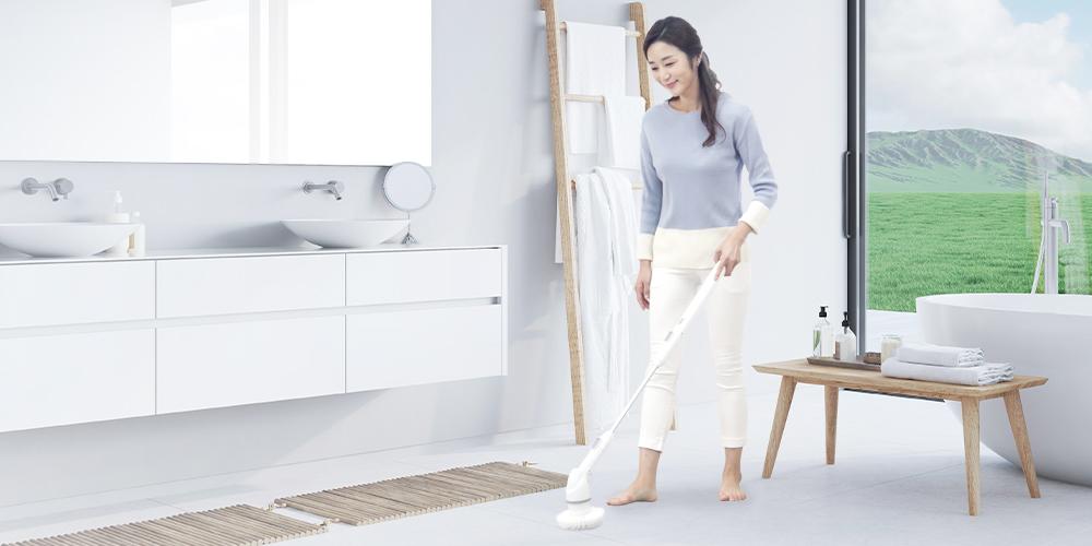 오엘라 네오스핀 무선 욕실청소기