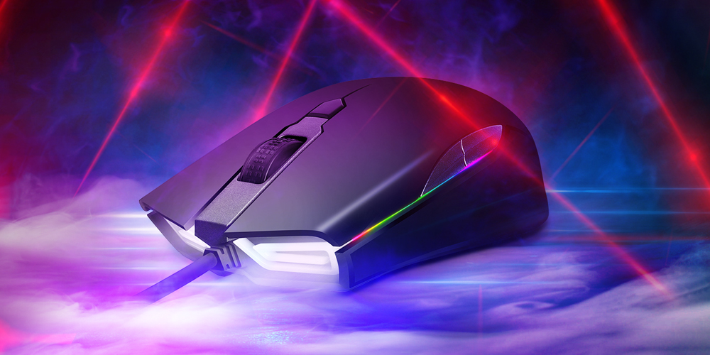 ABKONCORE A900 3389 RGB SPECTRUM 게이밍 마우스